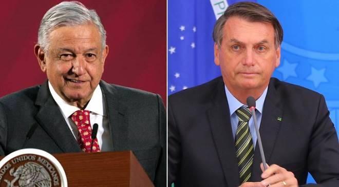 Presidentes do México e Brasil recebem críticas por não levarem a sério o Coronavírus