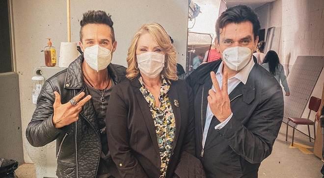 Em meio à pandemia, Jorge Salinas e José Ron voltam a gravar novela