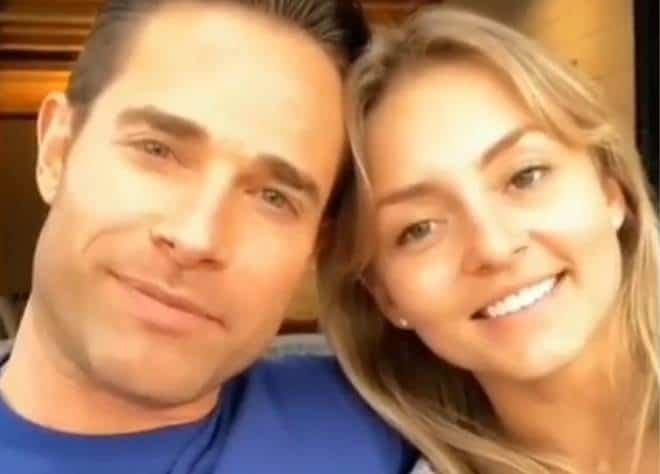 Angelique Boyer e Sebastián Rulli trocam declarações em programa de TV