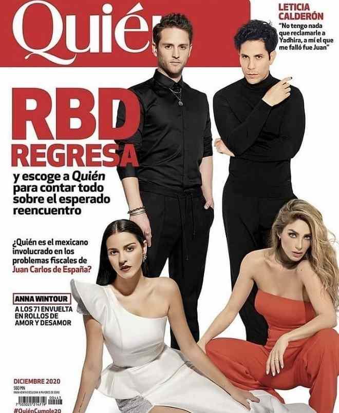 Após 12 anos RBD volta a posar para capa de revista