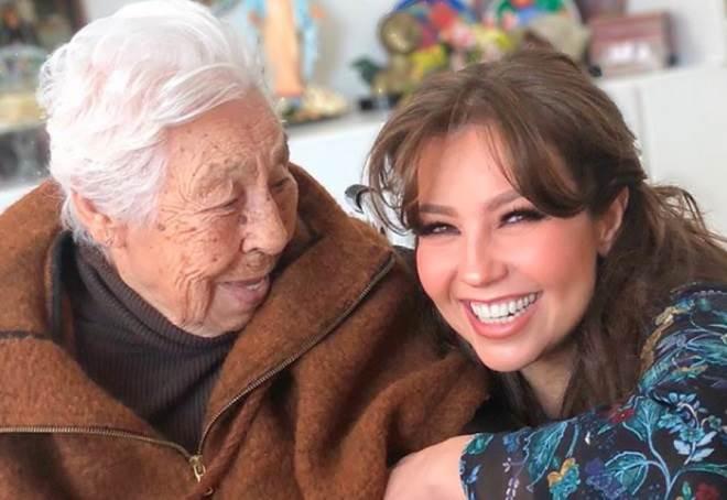 Avó de Thalia vive em asilo e sofre maus tratos