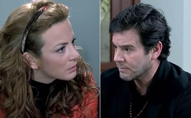 Renata fica sabendo por Antônio que Jerônimo não foi embora com Marina